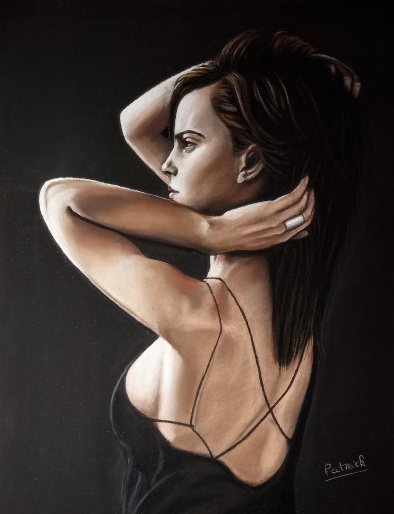 Emma Watson por Sculptif